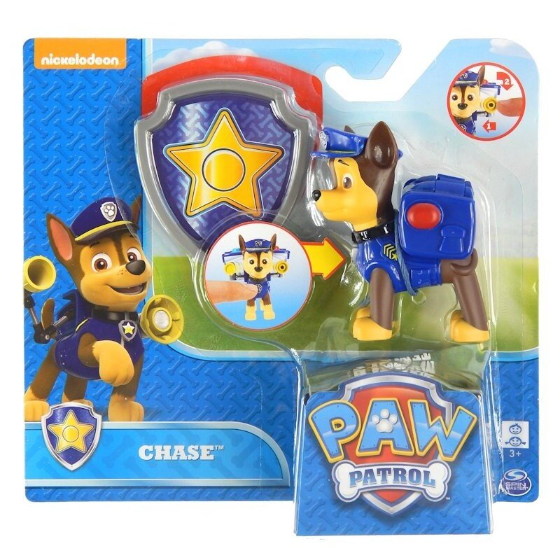 Psi Patrol Figurka z Odznaką Chase Spin Master