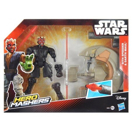 STAR WARS Mashers Darth Maul i Ścigacz Sithów