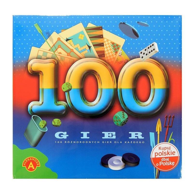 Duży zestaw 100 Gier Alexander