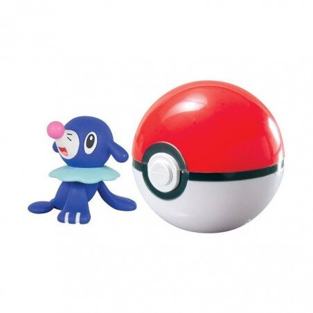 Figurka Pokemon Popplio i Poke Ball TOMY