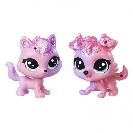 Piesek i Kotek Tęczowe Zwierzaki Littlest Pet Shop Hasbro