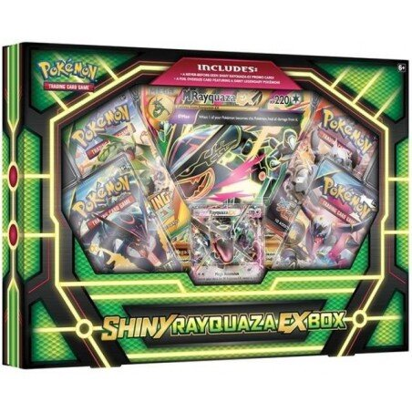 Pokemon Shiny Rayquaza-EX Box