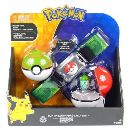 Pas trenera Pokemon i figurka Bulbasaur Tomy