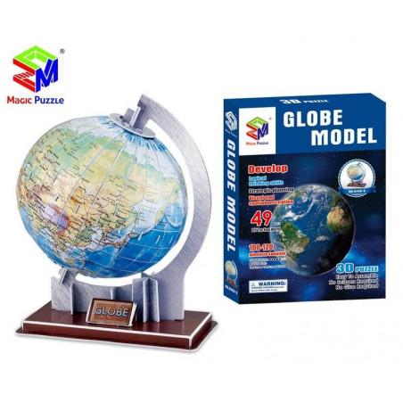 Globus 3D puzzle przestrzenne 49 el.