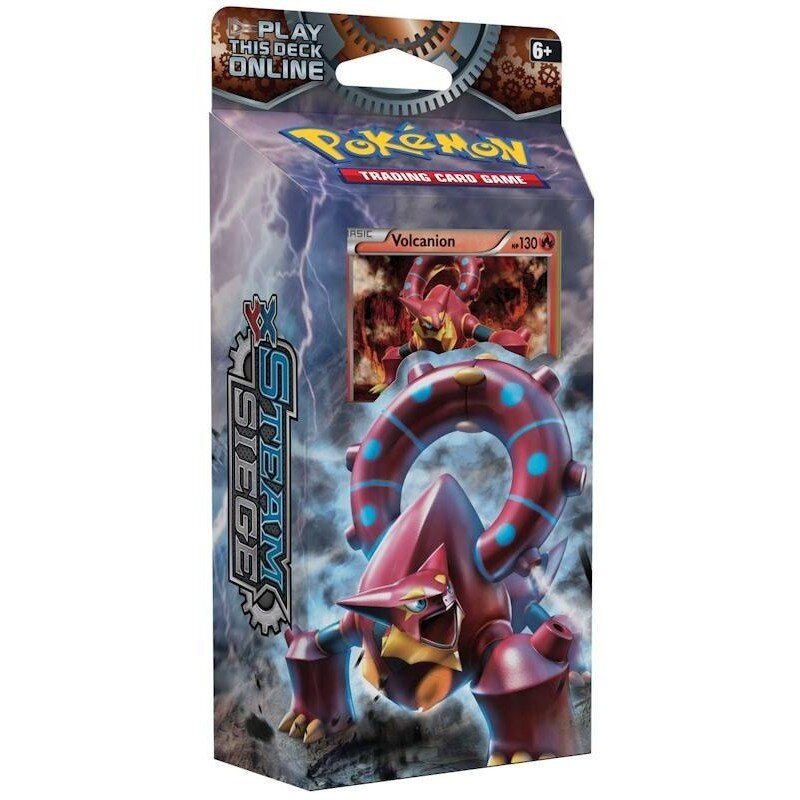 Pokemon XY11 Steam Siege GEARS of FIRE Theme Deck