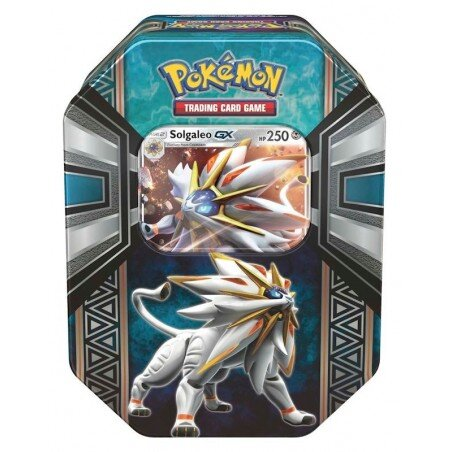 Pokemon Spring Tin 2017 Legends of Alola SOLGALEO