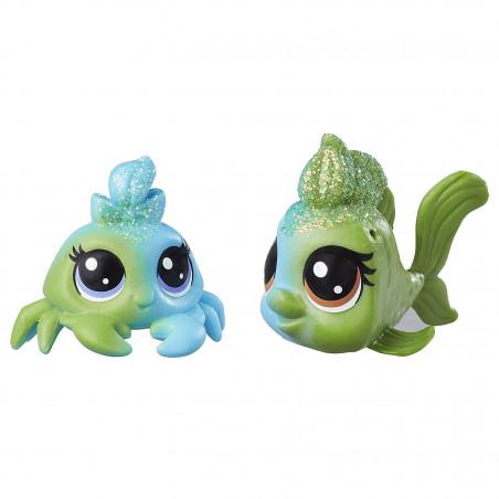 Krab i Rybka Tęczowe Zwierzaki Littlest Pet Shop Hasbro