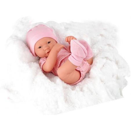 Lalka Newborn Baby niemowlak noworodek ze smoczkiem