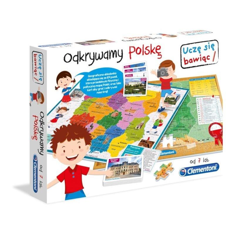 Clementoni Odkrywamy Polskę Gra Edukacyjna