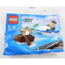 Mini Zestaw Policjny wodny pościg Lego City