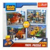 Puzzle 4w1 Bob budowniczy Pracowity Dzień TREFL