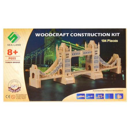 Most Tower Bridge drewniane puzzle 3D przestrzenne