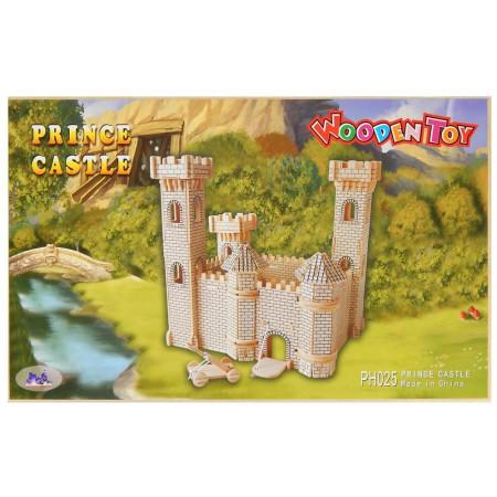 Zamek Księcia drewniane puzzle 3D przestrzenne