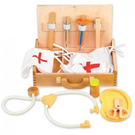 Drewniana Apteczka Lekarska dla dzieci Classic World