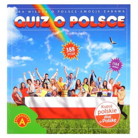 Quiz o Polsce Alexander Gra edukacyjna 388 pytań