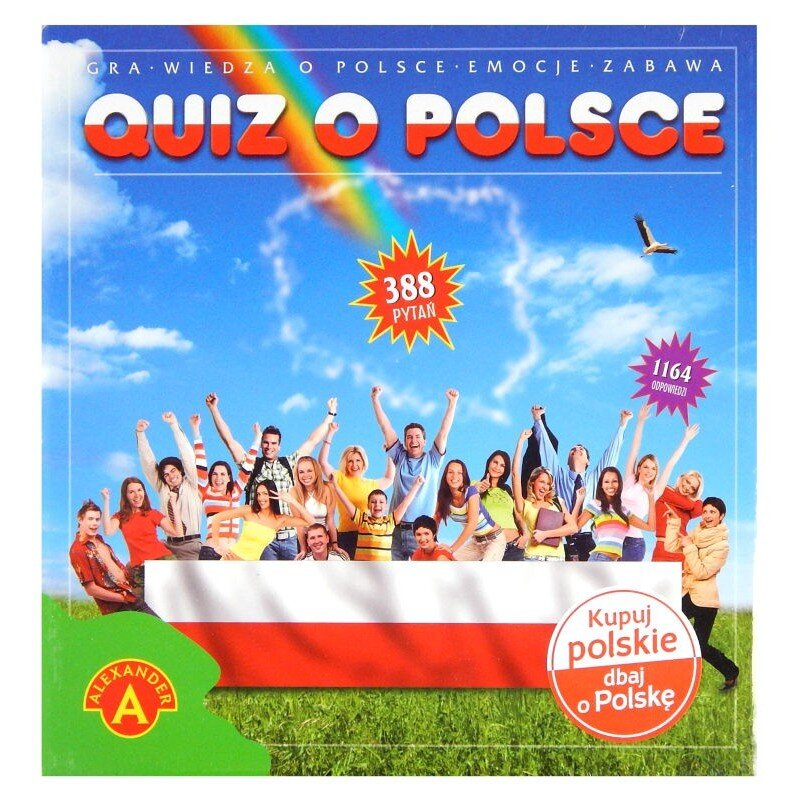 Quiz o Polsce Alexander Gra edukacyjna