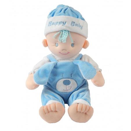 Lalka szmacianka John niebieski 25 cm AXIOM