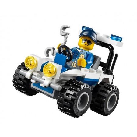 Mini Zestaw Policjny Samochód Lego City