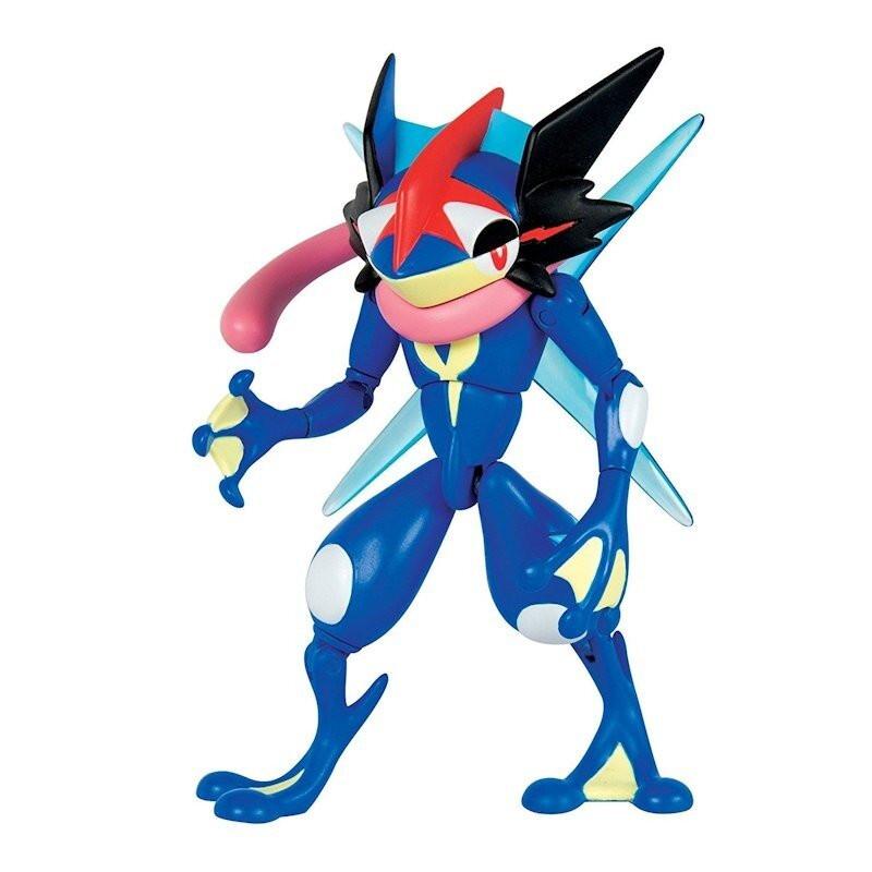Pokemon ASH-GRENINJA ruchoma figurka TOMY