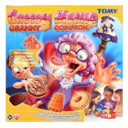 Gra zręcznościowa Łakocie chciwej babci Tomy