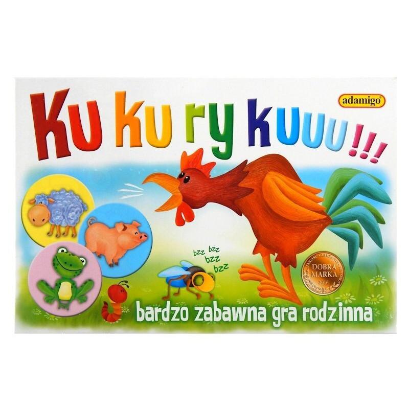KUKURYKU Rodzinna gra edukacyjna Adamigo