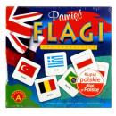 Gra Edukacyjna Flagi Pamięć Memory Alexander
