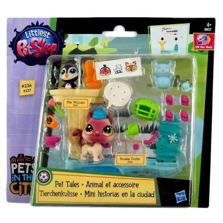 Littlest Pet Shop Lodowisko Zwierzakowe Historie