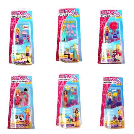 Klockowa Lalka Barbie Mega Bloks zestawy