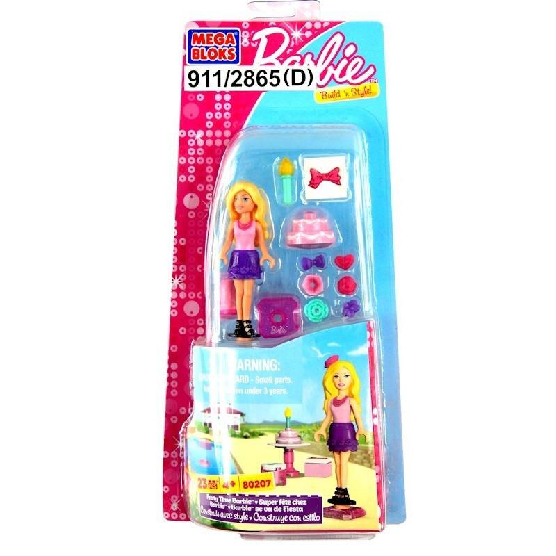Klocki Mega Bloks Barbie zestawy z laleczką