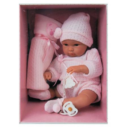 Lalka Llorens hiszpański niemowlak bobasek płacząca dziewczynka
