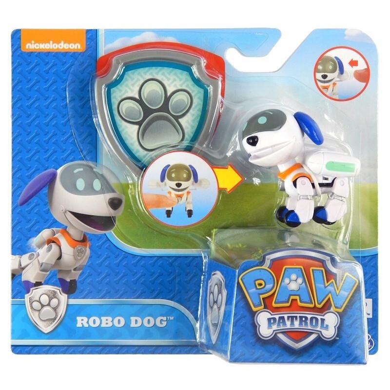 Psi Patrol Figurka z Odznaką ROBO PIES Spin Master