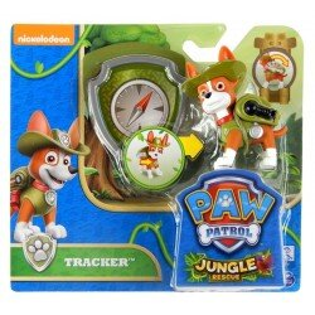 Psi Patrol Figurka z Odznaką TRACKER Spin Master