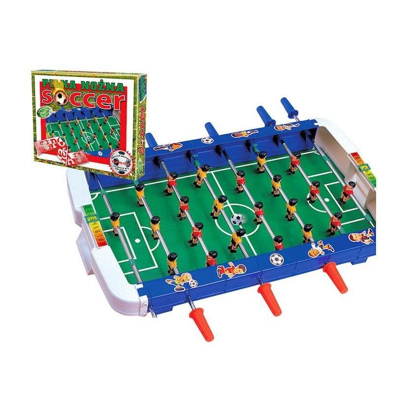 Gra Duże Piłkarzyki SOCCER stół z rączkami DROMADER