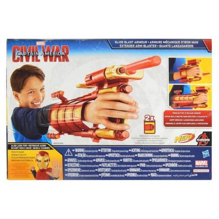 Nerf Rękawica Iron Man Avengers z wyrzutnią HASBRO