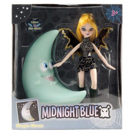 Lalka Midnight Blue Ze Świecącym w ciemności Księżycem
