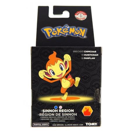 Pokemon Chimchar Figurka w gablotce Tomy
