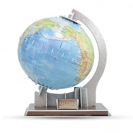 Globus do złożenia Puzzle przestrzenne 3D 49 el.