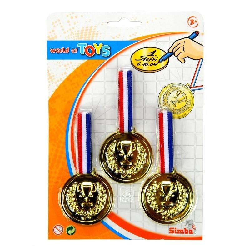 Zestaw 3 Złote Medale Simba