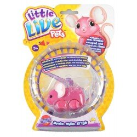Interaktywna Myszka Little Live Pets COBI różne kolory
