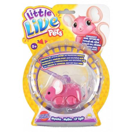 Myszka Gwiazdeczka Little Live Pets różowa COBI