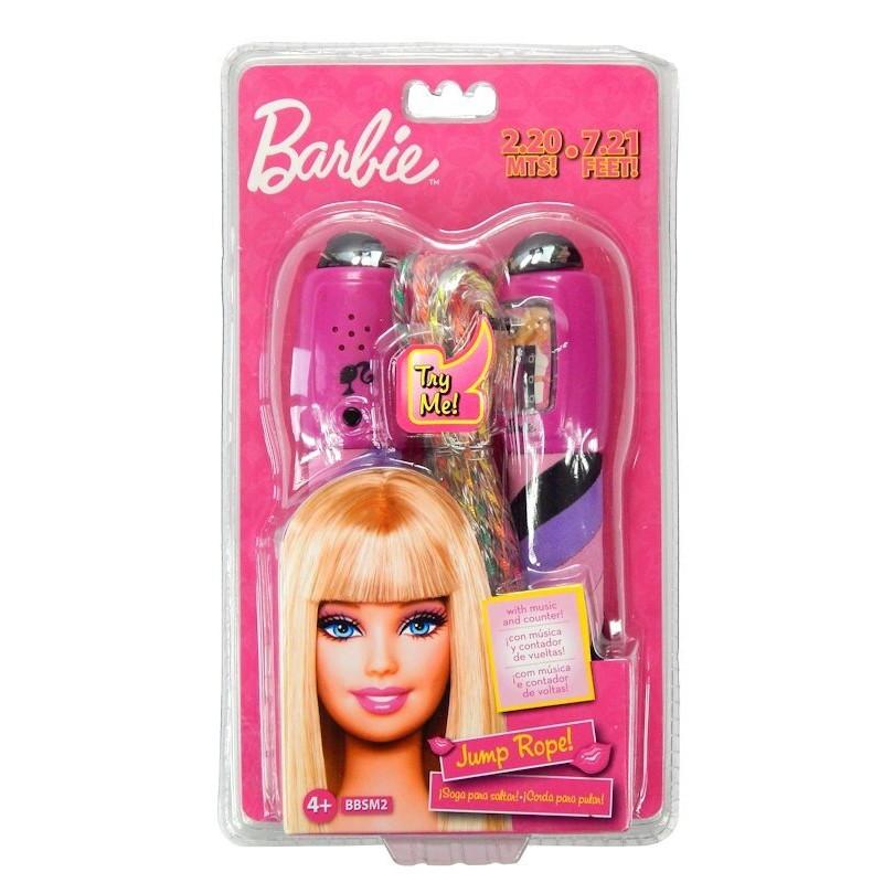 Skakanka Barbie z licznikiem i muzyką