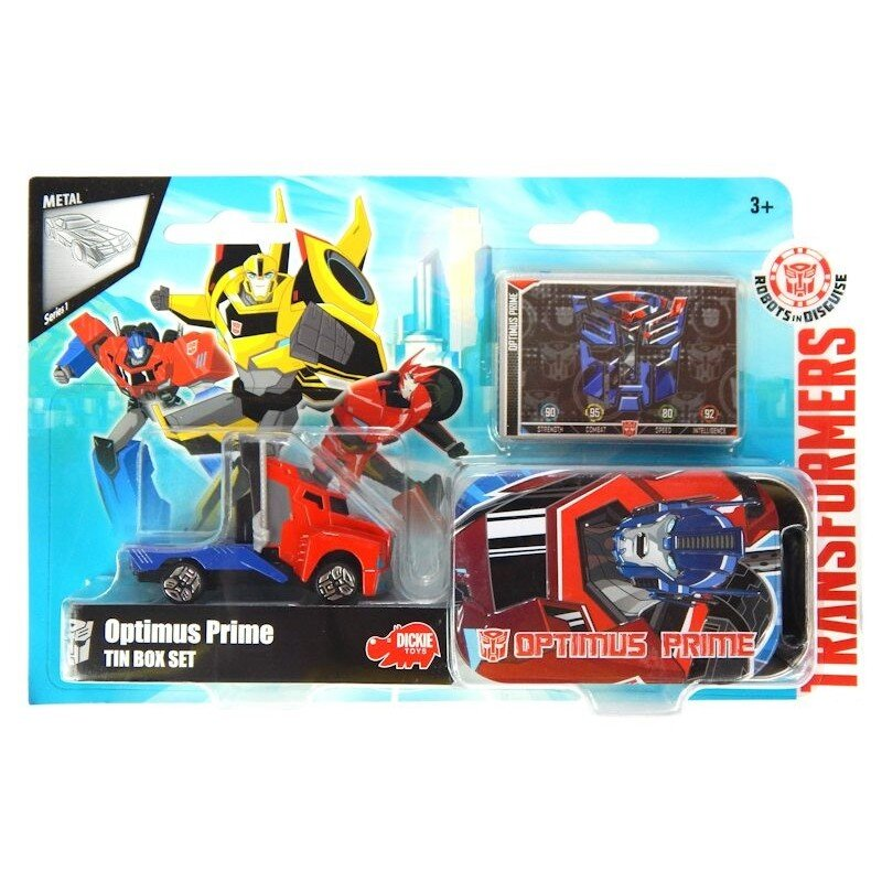 Auto Robot Transformers Bumblebee Światło i dźwięk DICKIE