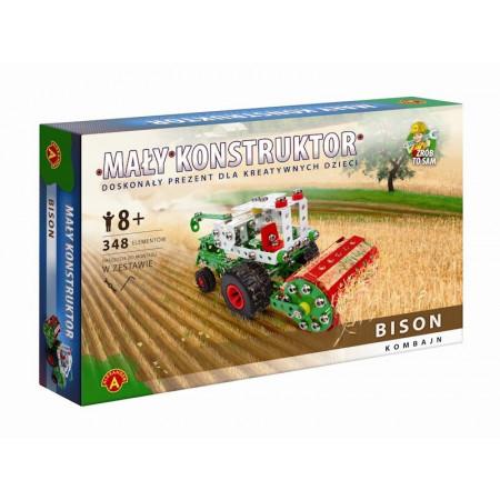 Mały Konstruktor Maszyny Rolnicze Kombajn Bison