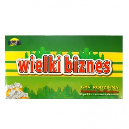 Biznes Po Polsku Alexander wersja podróżna Gra strategiczna