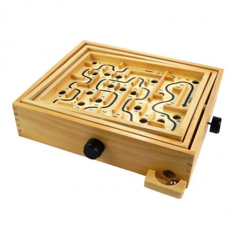 Drewniany Labirynt - gra zręcznościowa łamigłówka