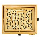 Gra zręcznościowa łamigłówka Drewniany Labirynt