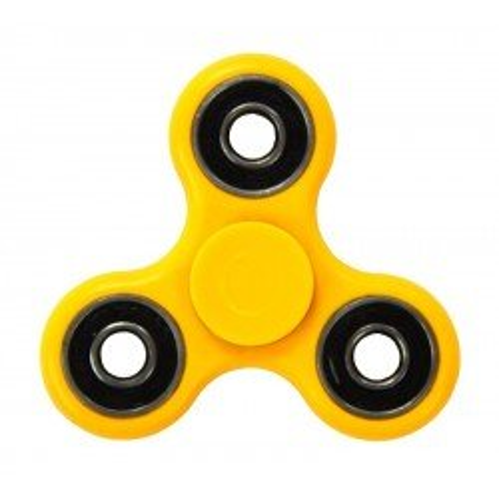 Hand Fidget Spinner 4 łożyska Yellow