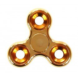 Hand Fidget Spinner Metal Gold