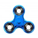 Hand Fidget Spinner Metal Blue