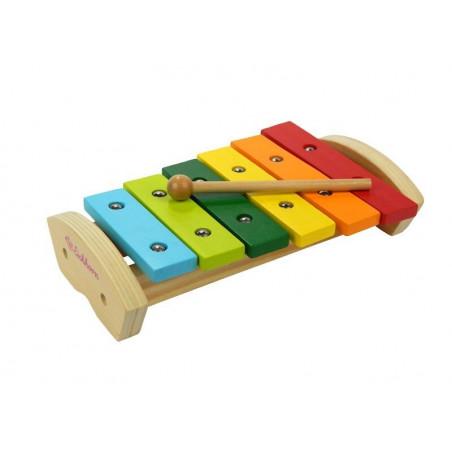 Drewniane cymbałki ksylofon Eichhorn
